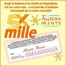 Dona il 5xMille ad AllegraMente